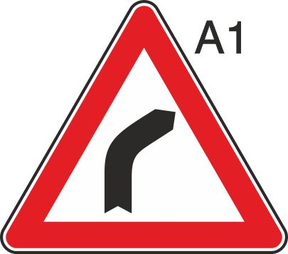 пътен знак А1 Елит