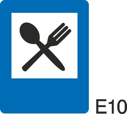 пътен знак Е10 Елит