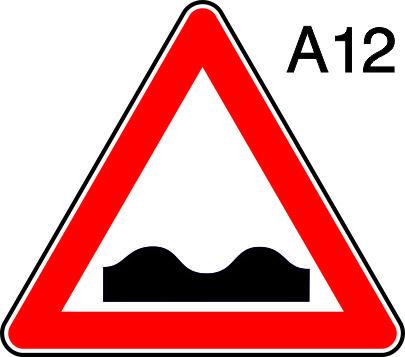 пътен знак А12 Елит