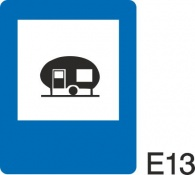 пътен знак Е13 Елит