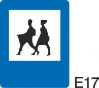 пътен знак Е17 Елит