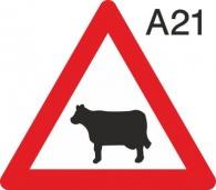 пътен знак А21 Елит