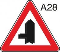 пътен знак А28 Елит