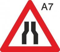 пътен знак А7 Елит