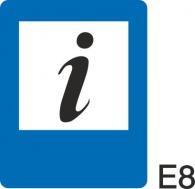 пътен знак Е8 Елит