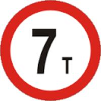 пътeн знак В18 Елит