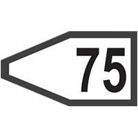 Железопътна табела 21 елит