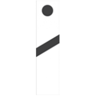 Железопътна табела 28