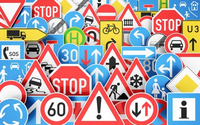 Често срещани знаци в България
